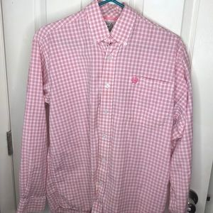 Men's CINCH Button Down Shirt XS